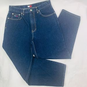 Tommy Jeans Mens 34x30 Blue Regular Fit Tapered
